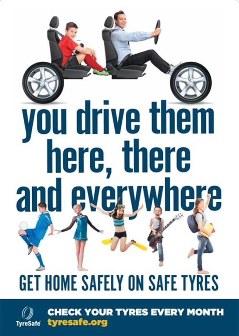 Home safely on safe tyres