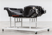 McLaren delivers first prototype carbon fibre chassis