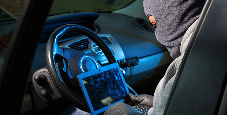 Increase in keyless car theft