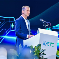 VW takes position in China's e-mobility