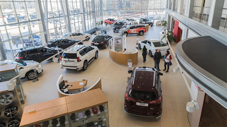 Urgent call for green light to open new car showrooms