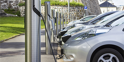 Electric charging point availability across UK is patchy