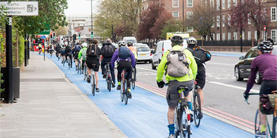 £2bn pledge to commuting cyclists & pedestrians