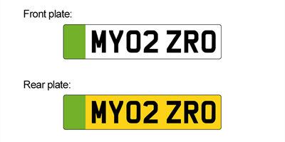 Green number plates for ultra-low emission vehicles by autumn