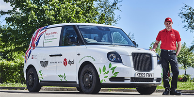 DPD begin trials with LEVC electric vans