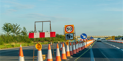 Motorway roadworks speed limit rise?
