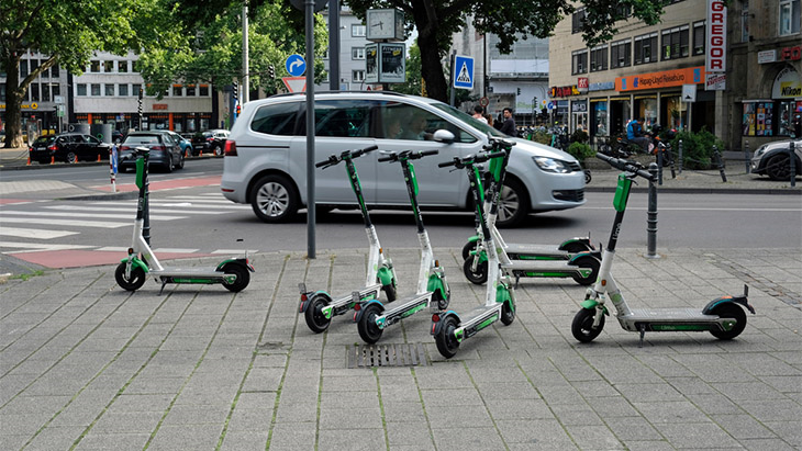 e-scooter rental trials go legal from from this weekend