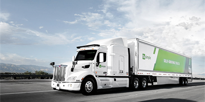 Semi-autonomous trucks 1,100-Mile daily route