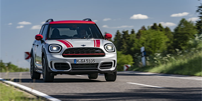 Extreme performance - new MINI Countryman John Cooper Works