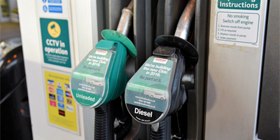 A bad month for drivers with petrol and diesel going up by 3p a litre